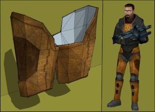 Partes del traje Half-l11