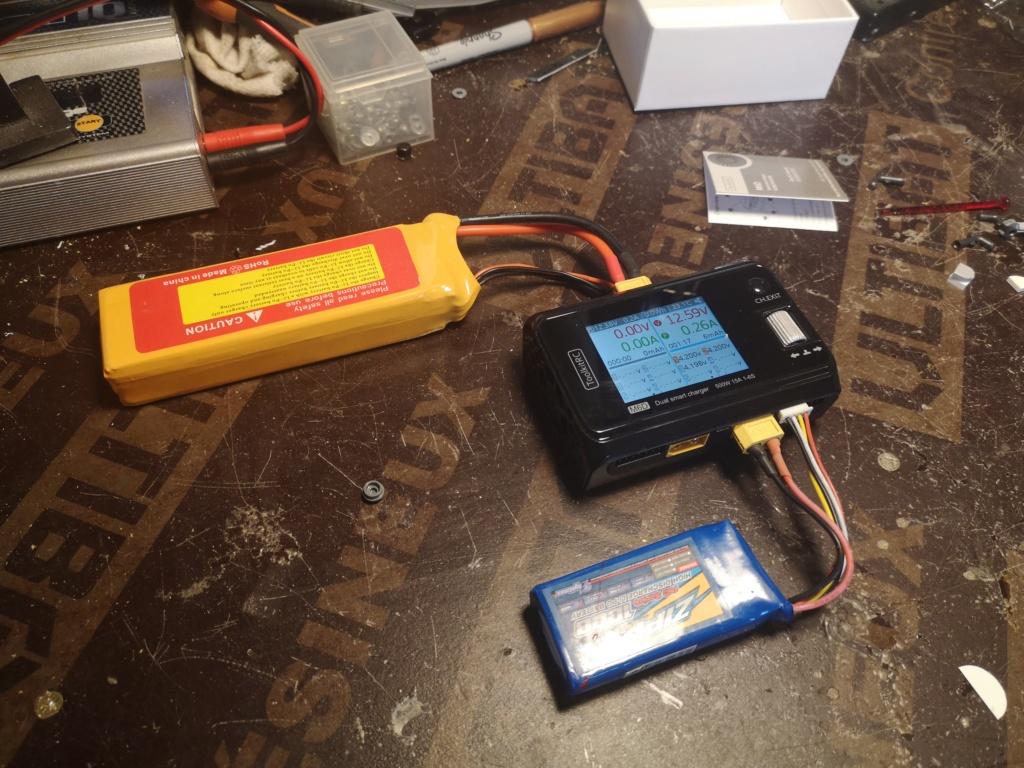 Nouveau chargeur ToolKitRC M6D + alim 13.8V 500w Charge14