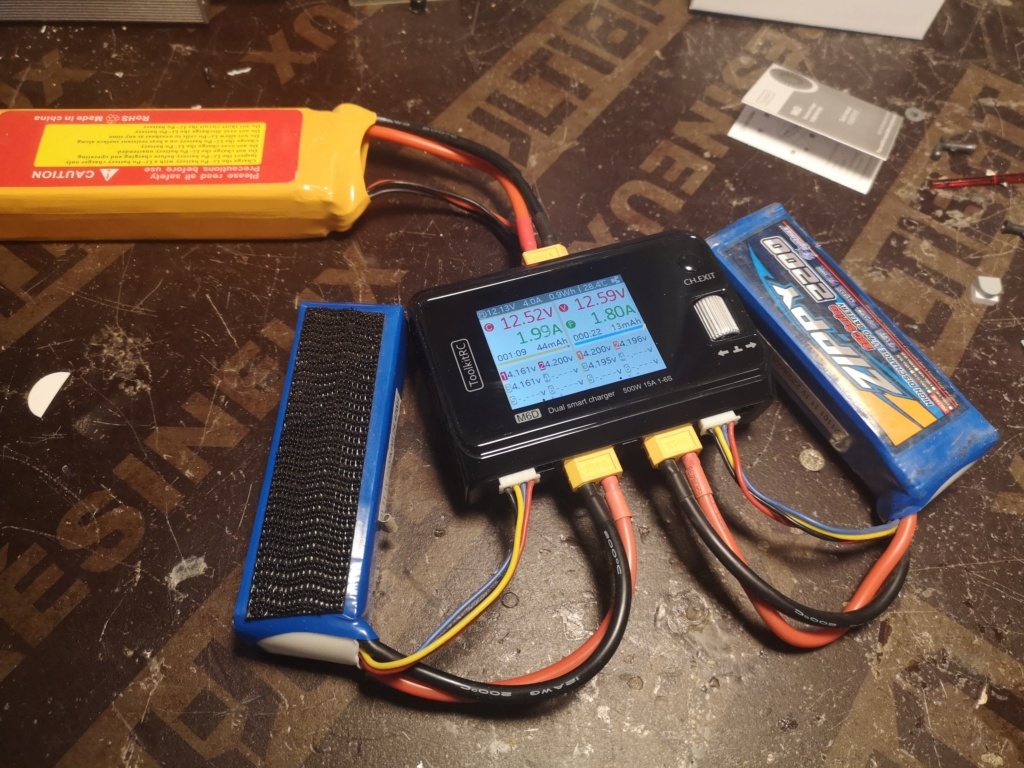 Nouveau chargeur ToolKitRC M6D + alim 13.8V 500w Charge15