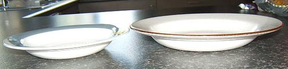 Modello - Taranto Crown Lynn modello Tableware  Tarant12