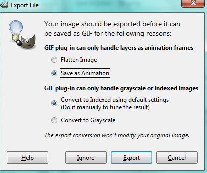 GIMP Animating Tutorial Animat11