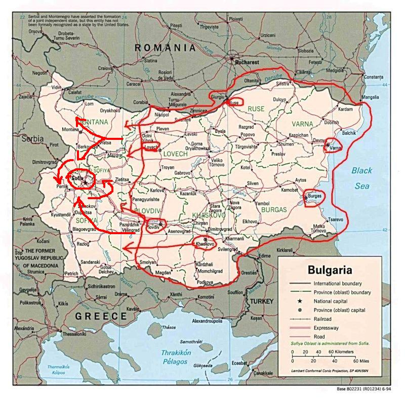 Guerra en los Balcanes Bulgar11