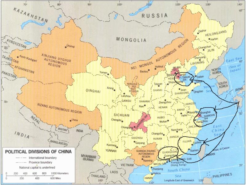 Segunda Guerra Chino-Japonesa Mapa_c11