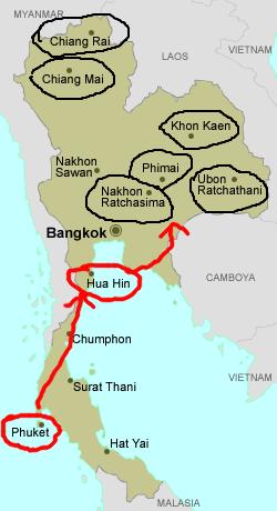 Ocupación Japonesa de Tailandia Siam11