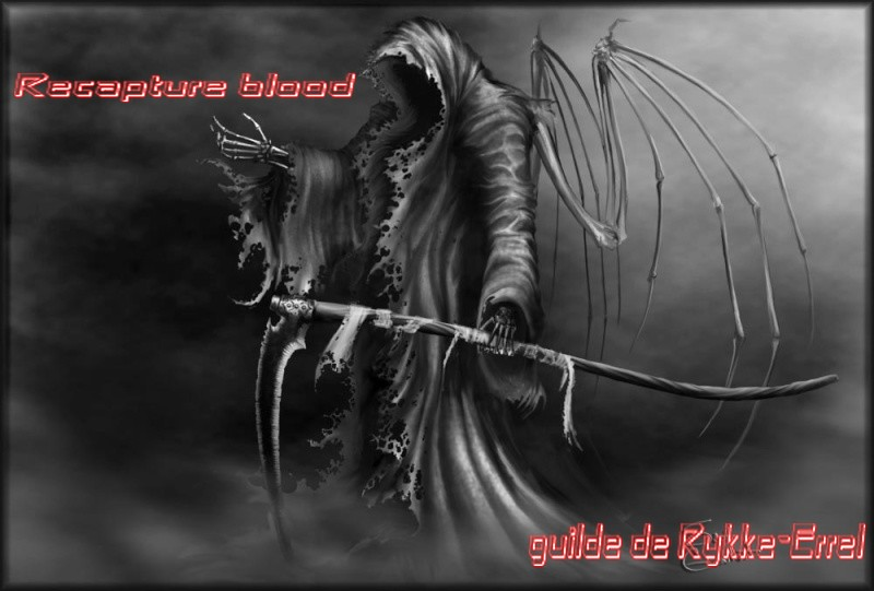 Forum Dofus de la guilde Recapture blood