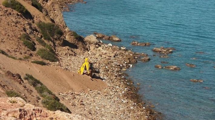 Des news du Camping Amis de Cala Iris (Région Al Hoceima) Travau12