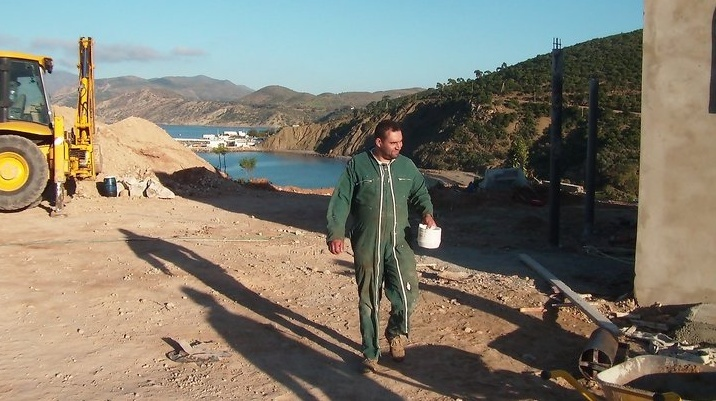 Des news du Camping Amis de Cala Iris (Région Al Hoceima) Travau13