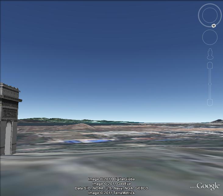 Trouver un monument en 3D . E10