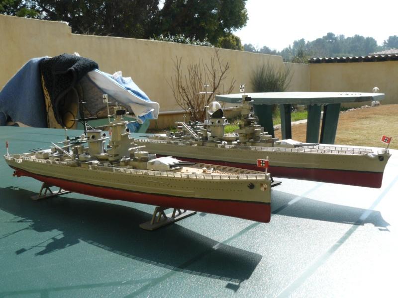 admiral scheer et graf spee au 1/400 heller  P1180911