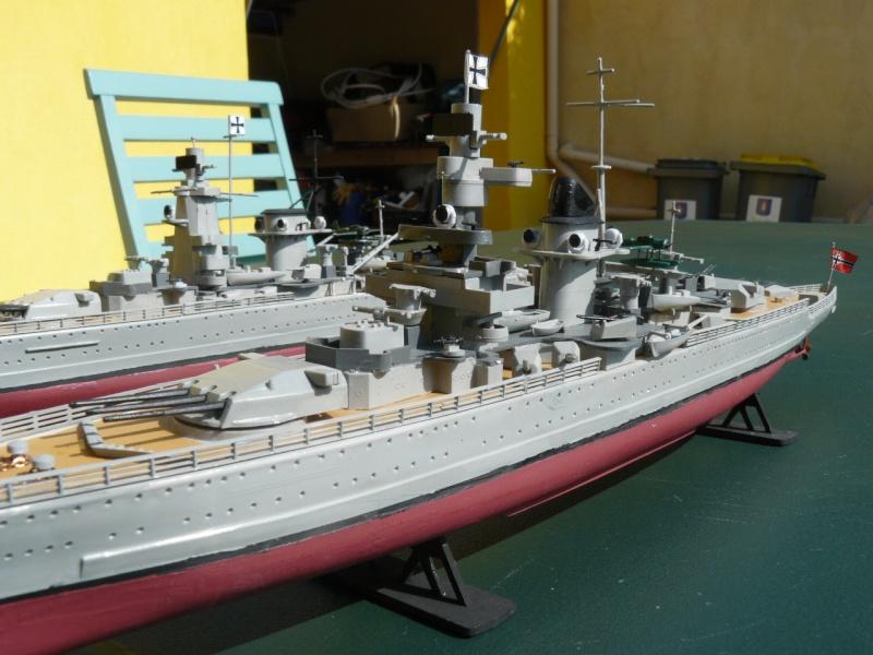 admiral scheer et graf spee au 1/400 heller  P1180912