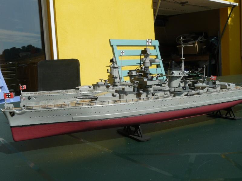 admiral scheer et graf spee au 1/400 heller  P1180913