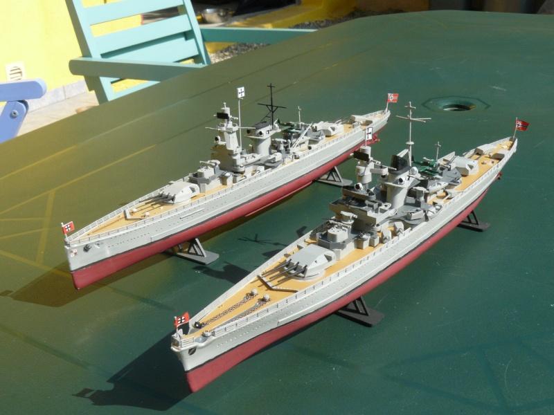 admiral scheer et graf spee au 1/400 heller  P1180917