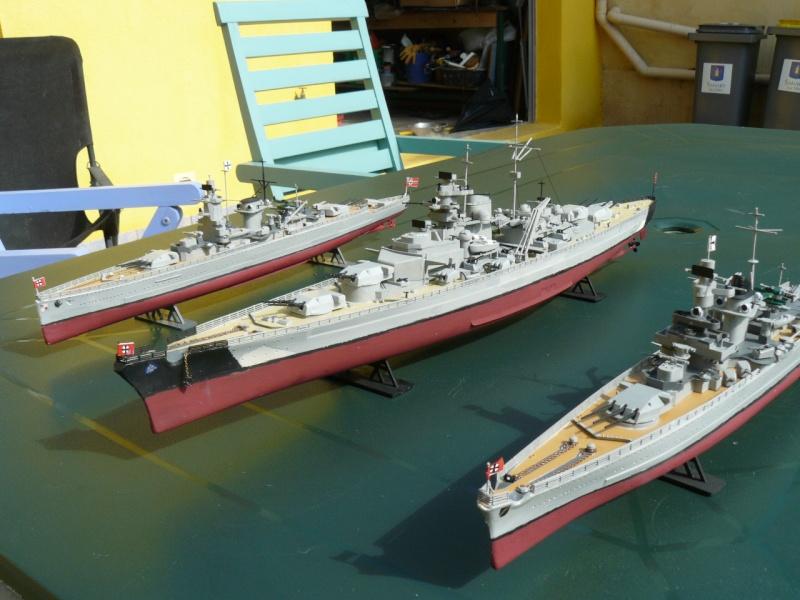 admiral scheer et graf spee au 1/400 heller  P1180918