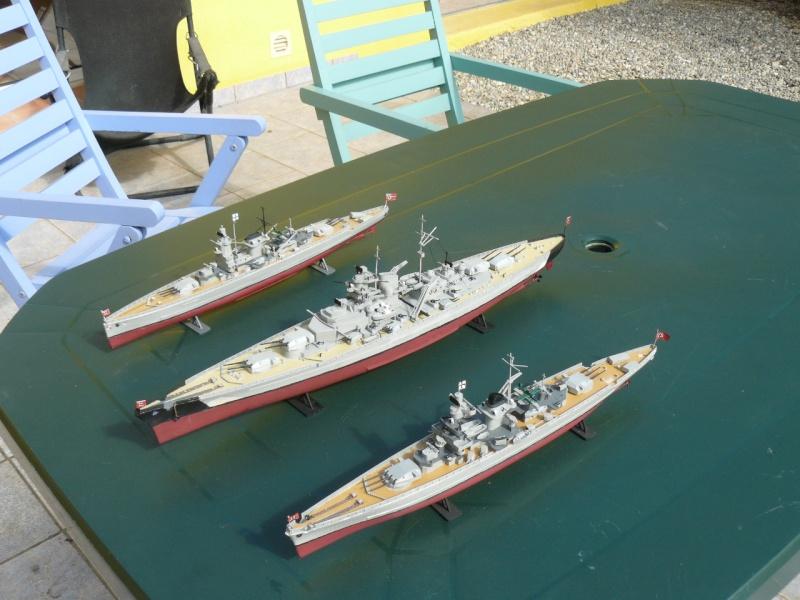 admiral scheer et graf spee au 1/400 heller  P1180920