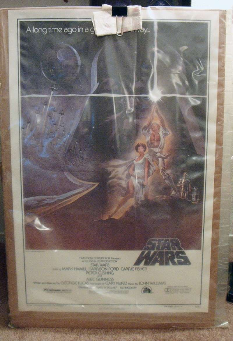 Does anybody collect or own any Original Vintage Star Wars One Sheets / Quads (Movie Posters) ? 1_shee10