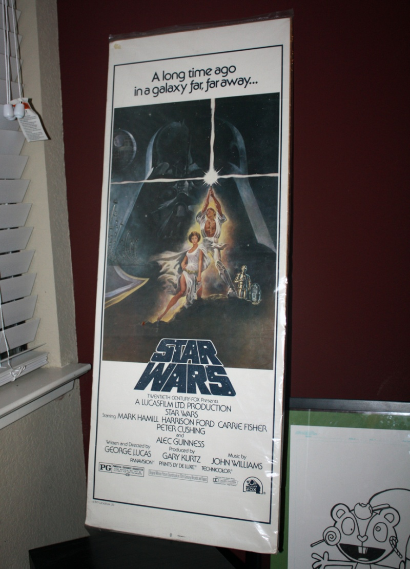 Does anybody collect or own any Original Vintage Star Wars One Sheets / Quads (Movie Posters) ? 1_shee12