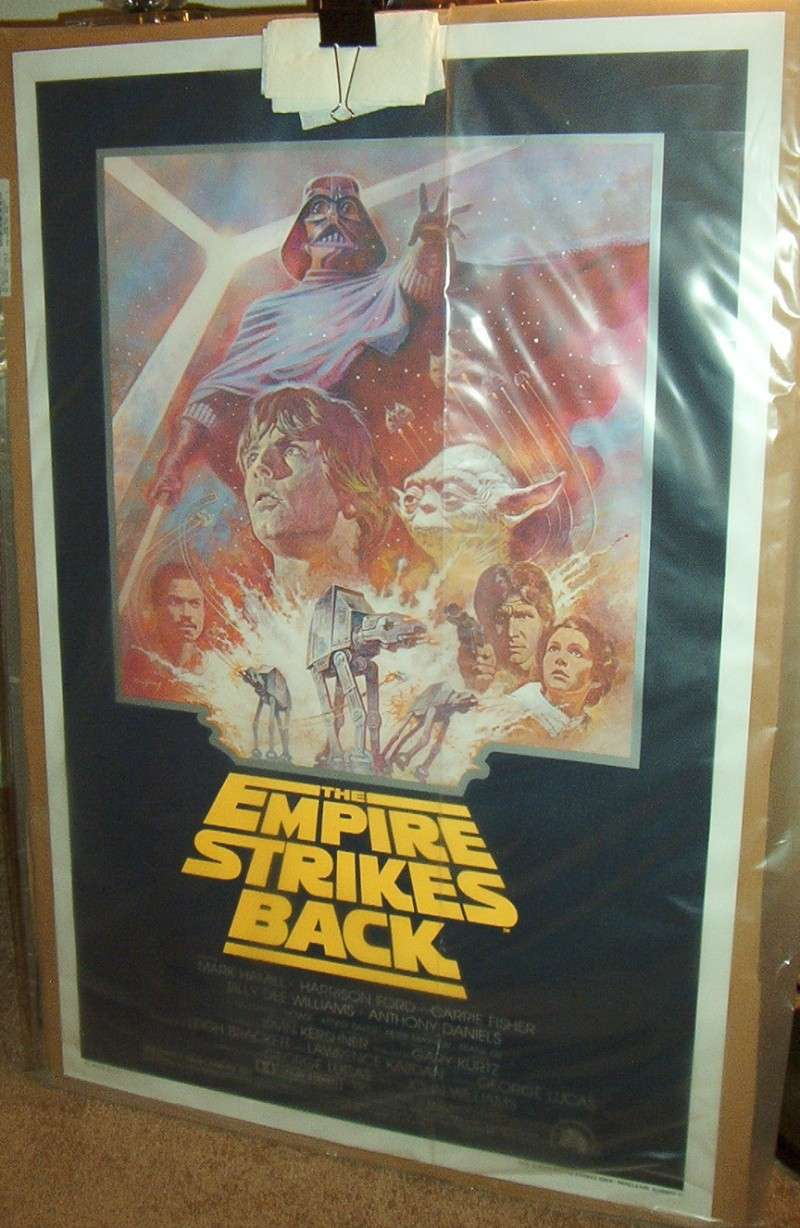 Does anybody collect or own any Original Vintage Star Wars One Sheets / Quads (Movie Posters) ? Empire10