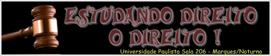 DIREITO 2011 - UNIP SALA 206