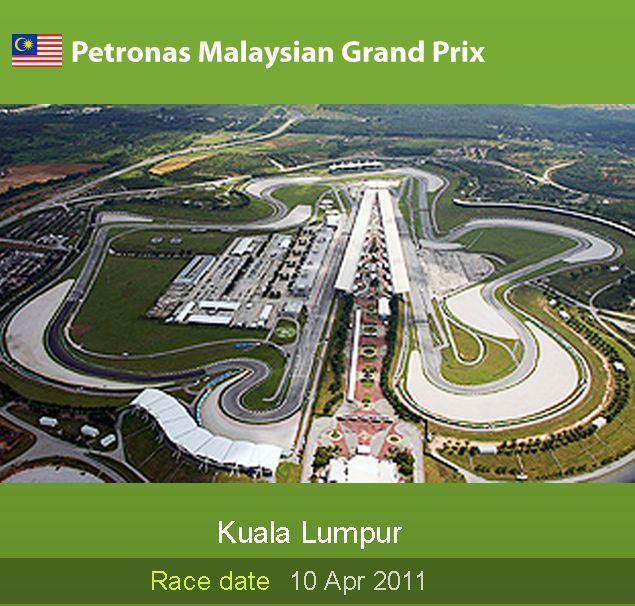 GP PETRONAS MALAYSIA - SEPANG 10/04/2011 Circui13