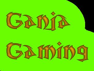 Ganja Gaming Text Logo Coolte11