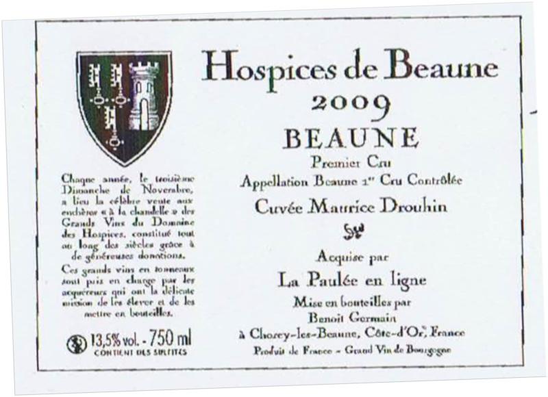Achat aux Hospices de Beaune - Page 5 Hospic13