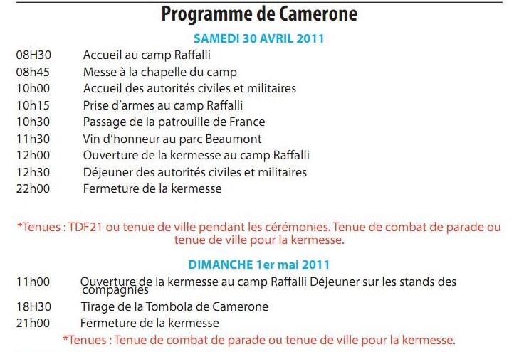 CAMERONE 2011 AU 2 REP LEGION ETRANGERE Camero10