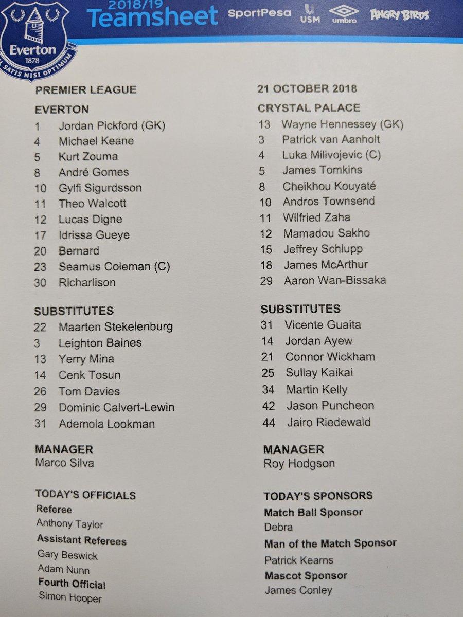 Everton 2 v Crystal Palace 0 (Calvert-Lewin, Tosun) Dqcyup10