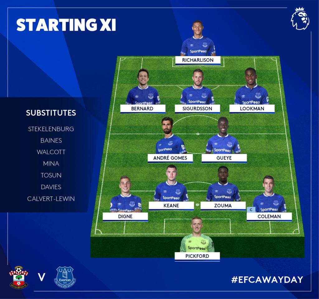 Southampton v Everton Dxr3ey10