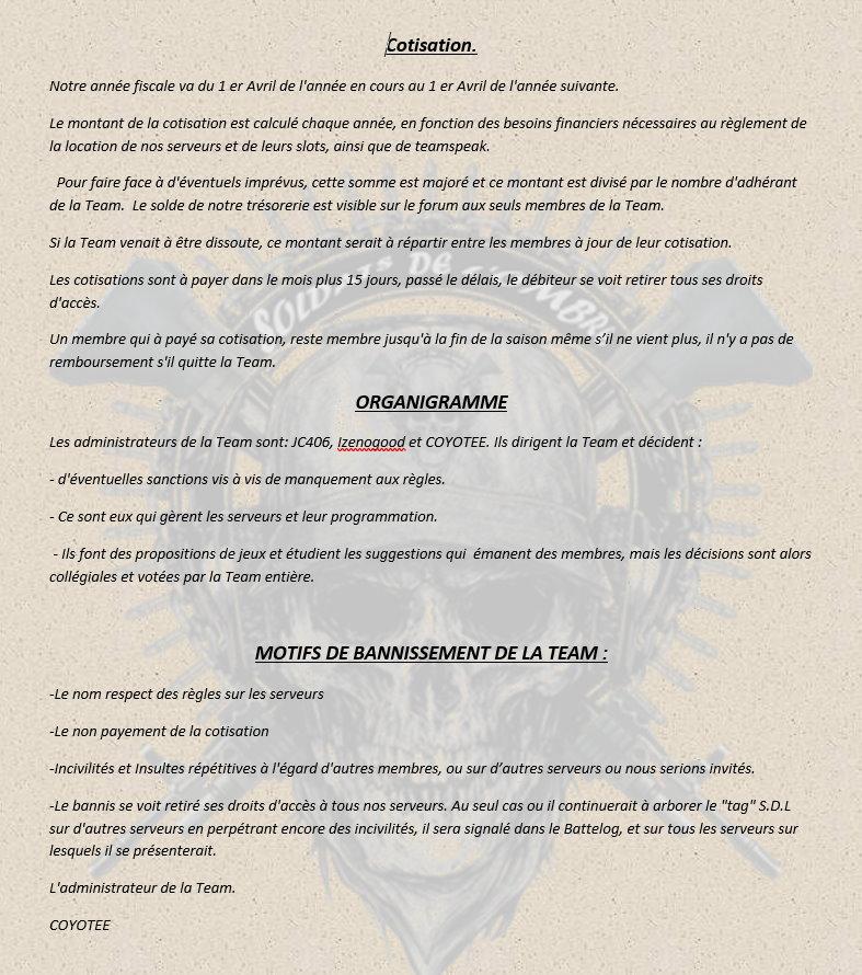 Charte a lire 313