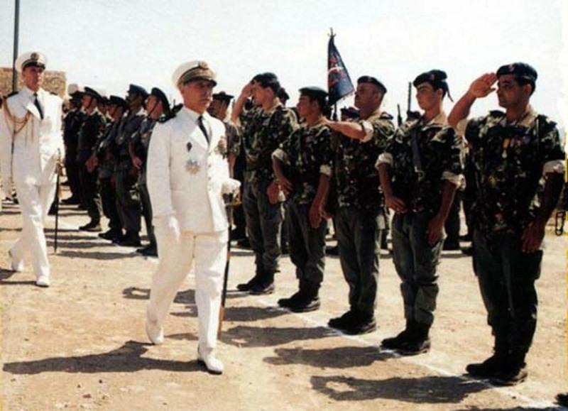 """Insigne du commando """"Yatagan"""" (DBFM). 11129810"""