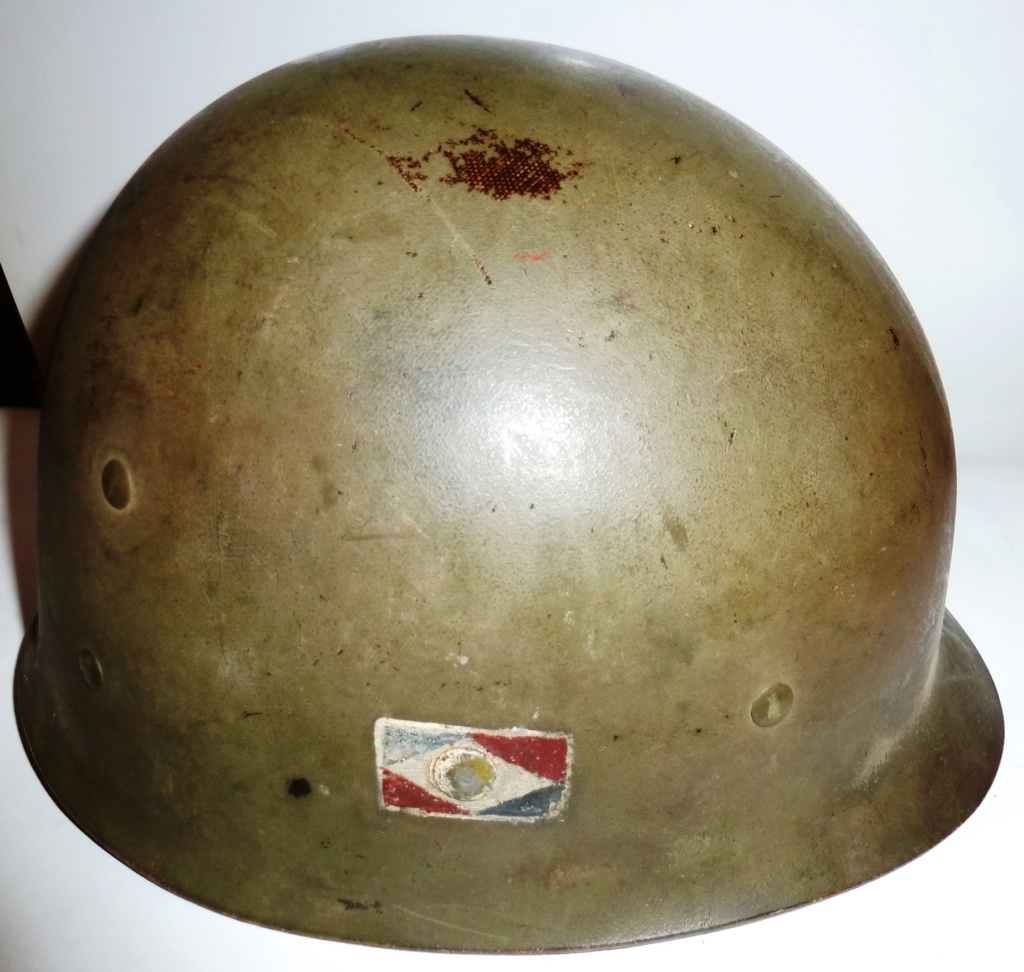 Estimation Casque usm1 1ere armée française goumier Armzoe17