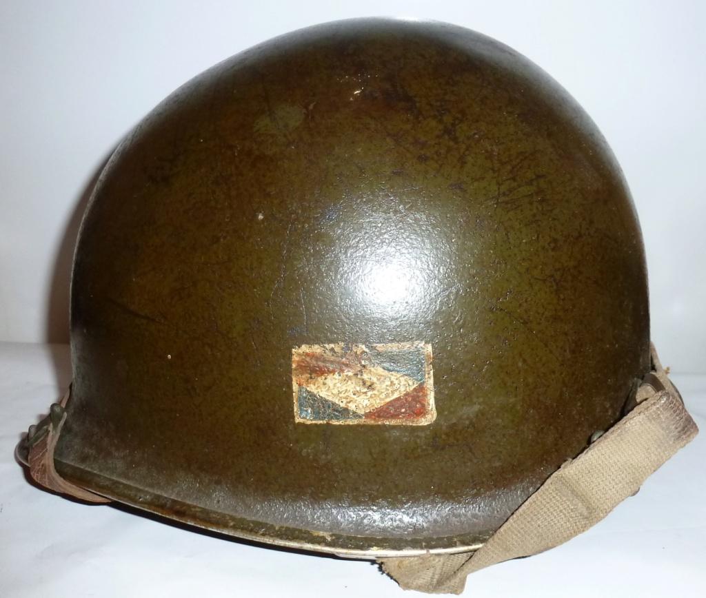 Estimation Casque usm1 1ere armée française goumier M1goum15