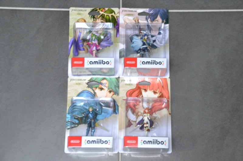 La collection de D3vILWiNNiE Amiibo12
