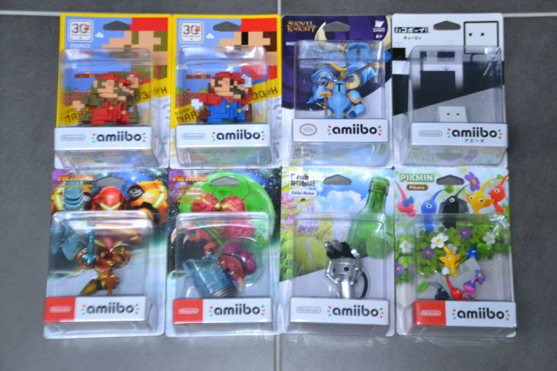 La collection de D3vILWiNNiE Amiibo13