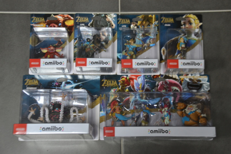 La collection de D3vILWiNNiE Amiibo17