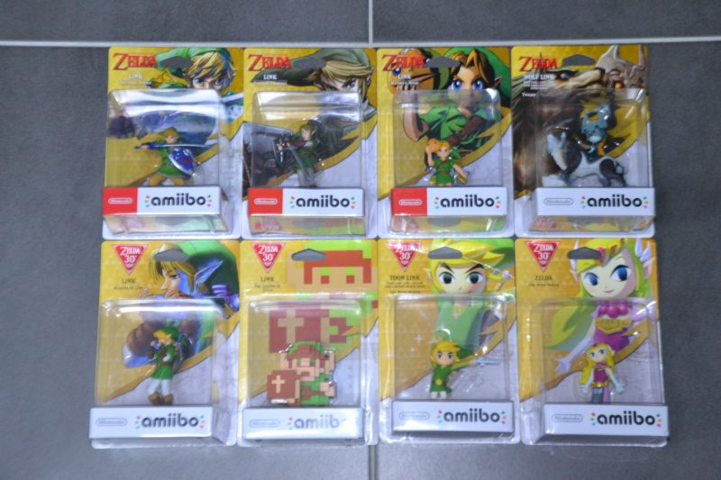 La collection de D3vILWiNNiE Amiibo20