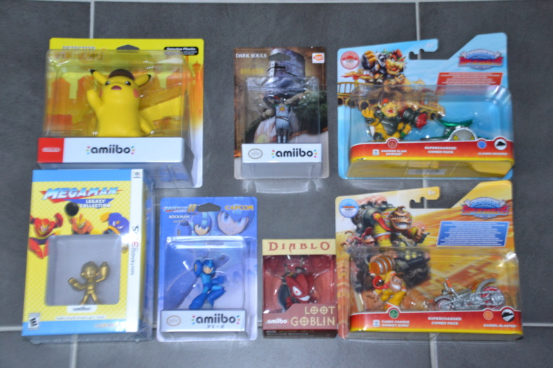 La collection de D3vILWiNNiE Amiibo25