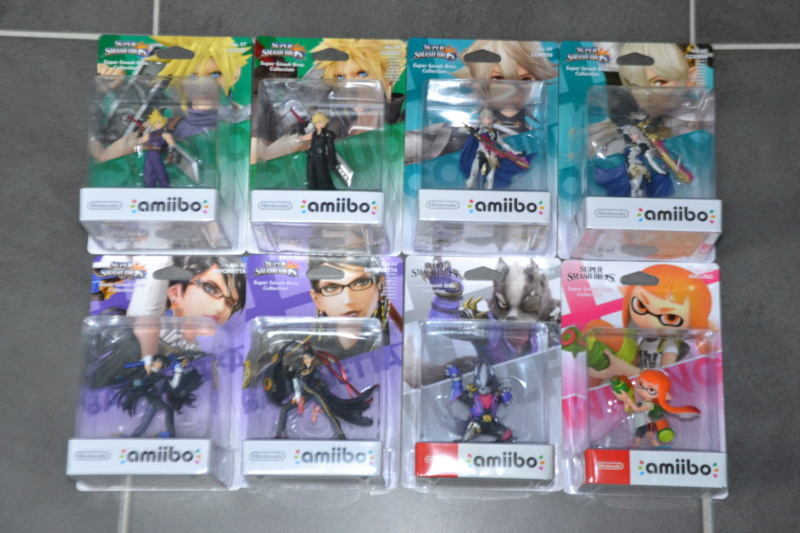 La collection de D3vILWiNNiE Amiibo28