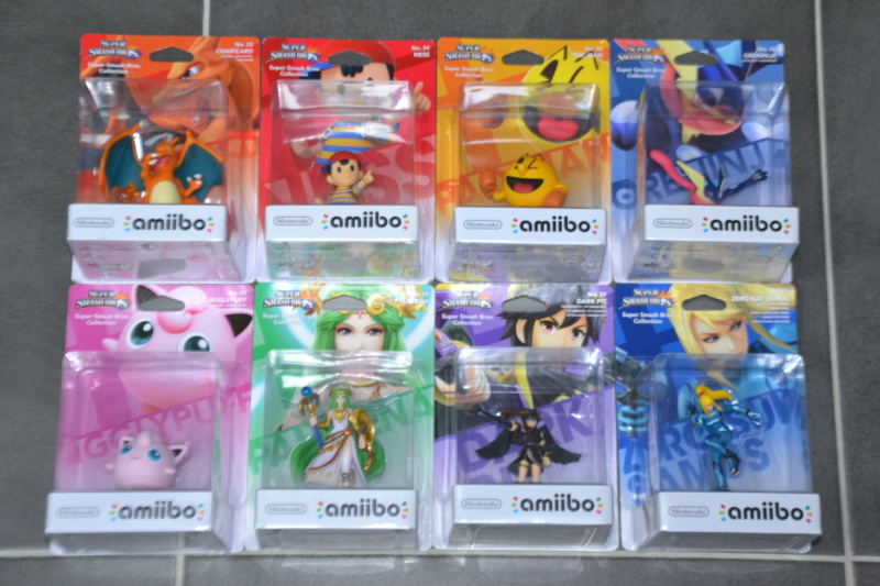 La collection de D3vILWiNNiE Amiibo29