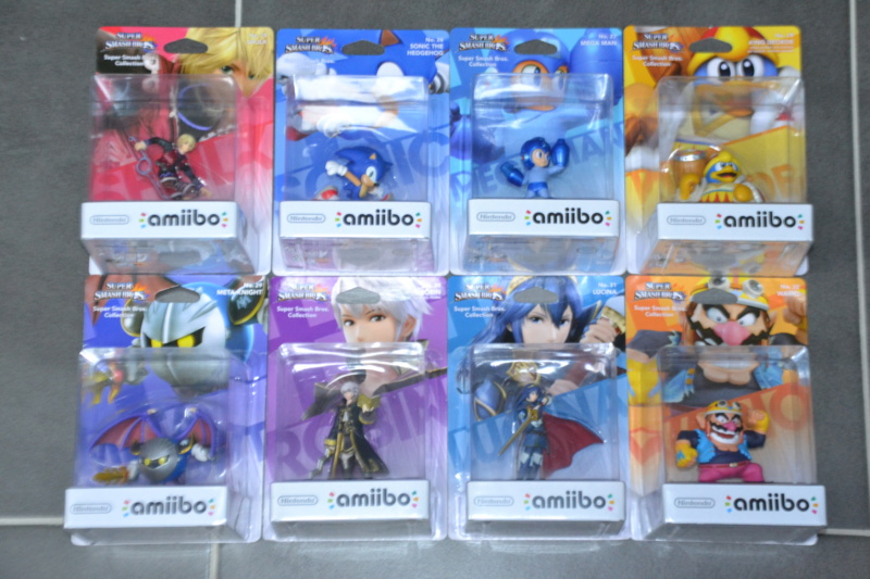 La collection de D3vILWiNNiE Amiibo30