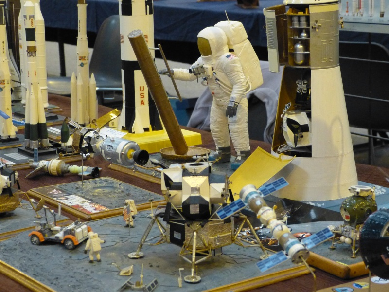 Vos collections de maquettes sur le spatial 21411