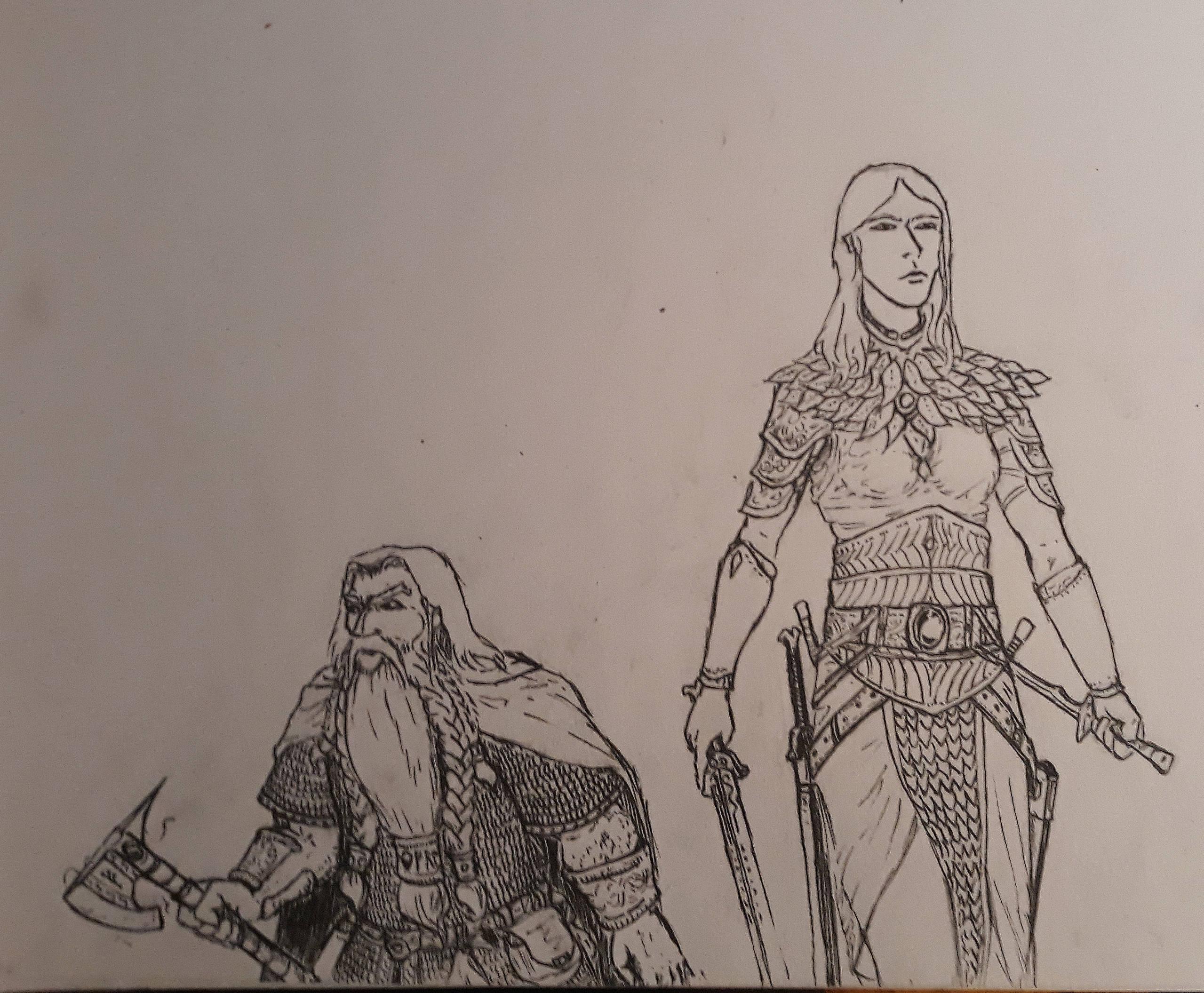 Les dessins de Gromdal - Page 11 110