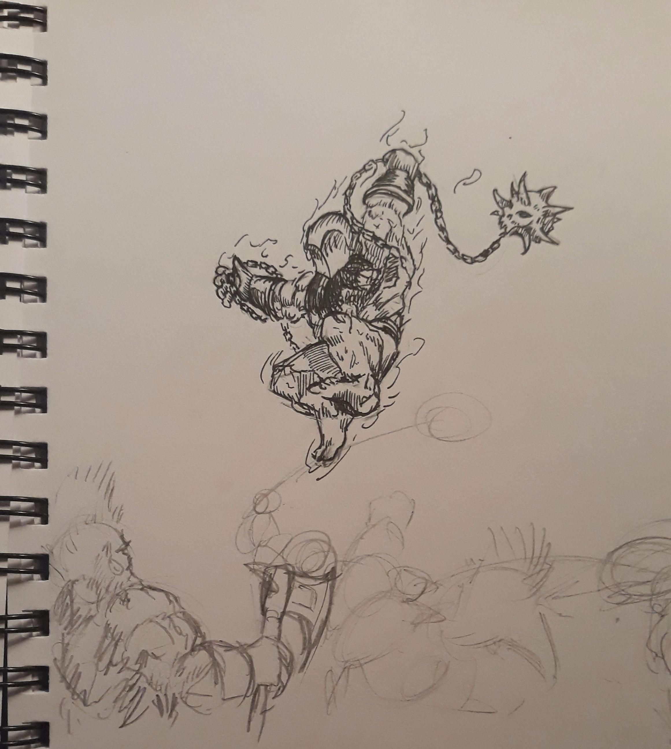 Les dessins de Gromdal - Page 11 210