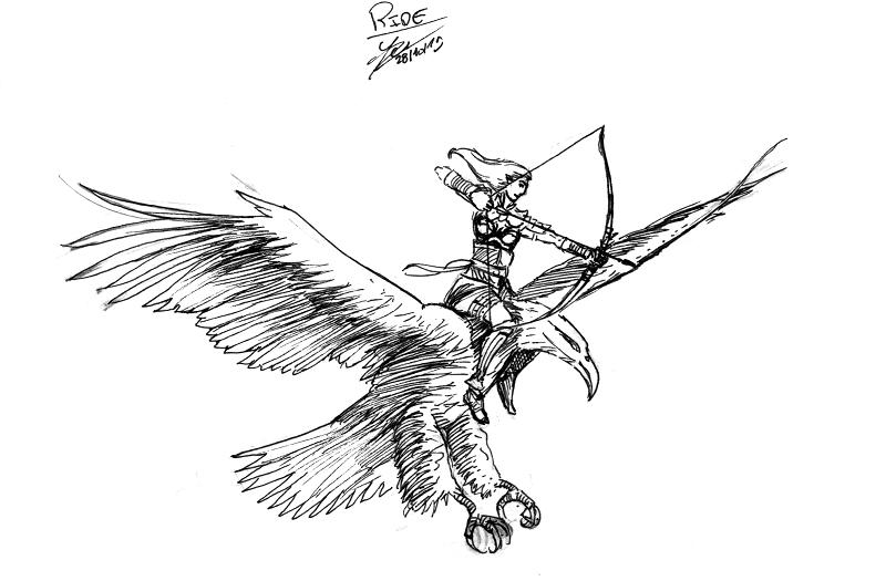 [Dessin] Les dessins de Gromdal - Page 3 28_rid10