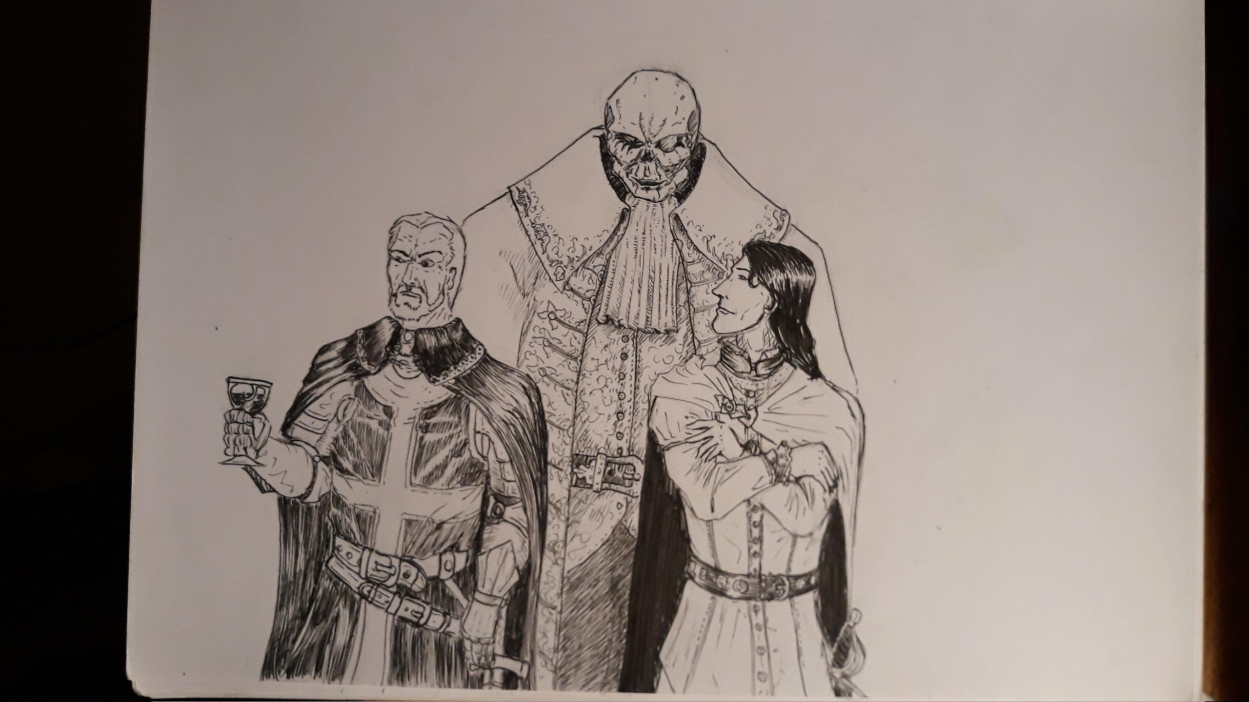 Les dessins de Gromdal - Page 11 710