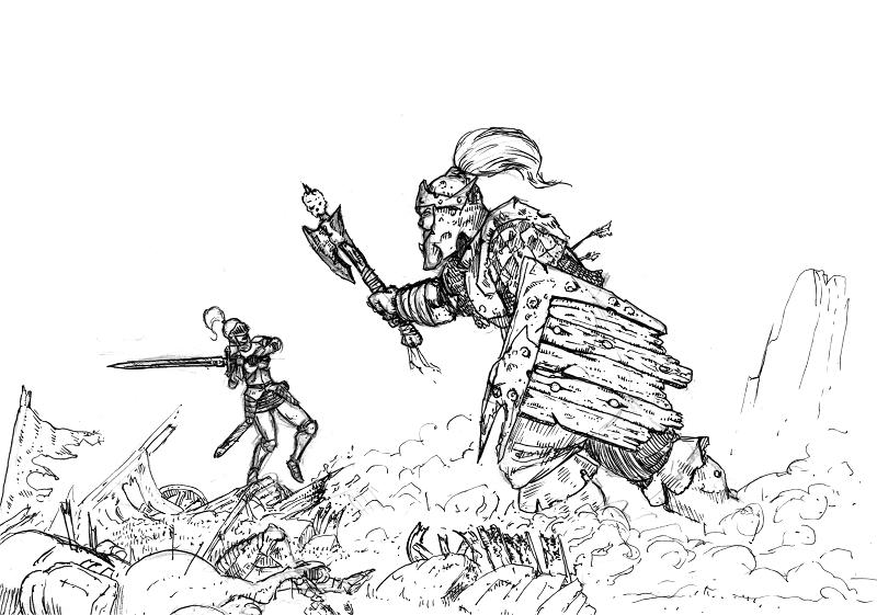 [Dessin] Les dessins de Gromdal - Page 3 8_frai10