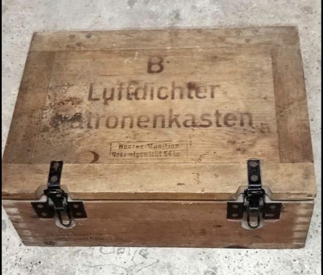 Caisse de munitions P08 4920d110