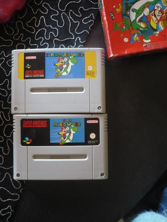 [question] Super Mario World quelle langue dans le jeux ? P1040121