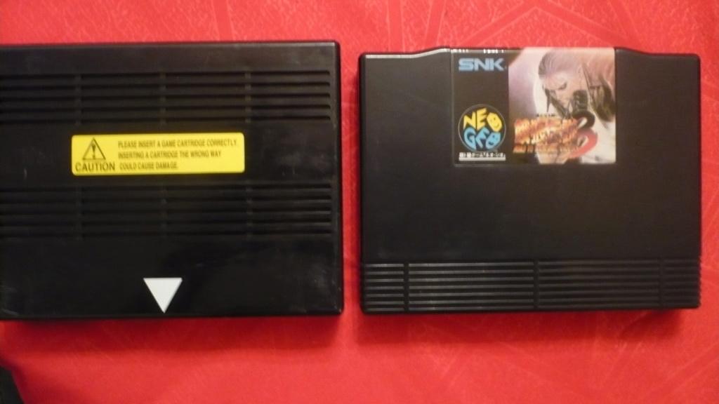 Help pour jouer sur console NeoGeo AES à des jeux MVS P1040223