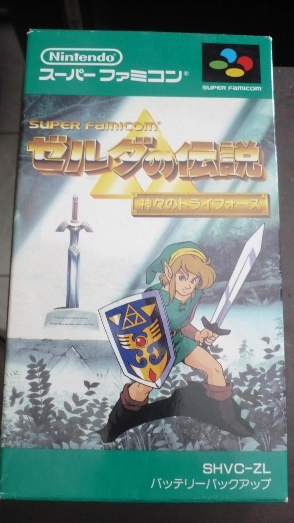 Les plus beaux visuels de boite Super famicom / Super Nintendo P1040313